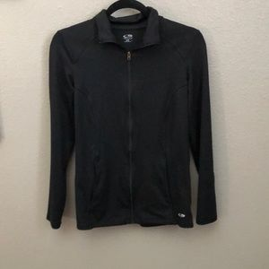 Black workout jacket